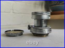 1951 Leica Summitar 5cm f/2 50mm Lens with Y-2 Filter