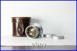 1952 Leitz Leica Radioactive Summicron Collapsible 50mm f/2.0 LTM M39 TESTED