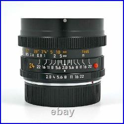 Brand New Unused Leica Elmarit-R 24mm F2.8 ROM Wide Angle Lens 11331 Leitz