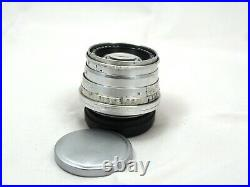 Carl Zeiss Jena 5cm f2 Sonnar red T M39, Leitz Leica Mount TESTED