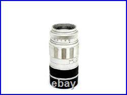 Chrome Leitz Leica 90mm f2.8 Elmarit M Mount Rangefinder Lens 26724