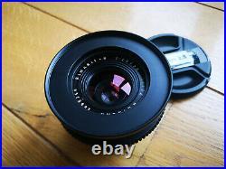 Cine style Leica Leitz Wetzlar Elmarit R 35mm f2.8 3cam lens