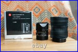 EXC++ Leica Summarit-M 50mm f/2.4 Leitz Wetzlar Rangefinder Lens 50 f2.4 11680