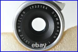 EXCELLENT-Leica Leitz Summaron 35mm F/2.8 Lens For Leica LTM L39 #4097