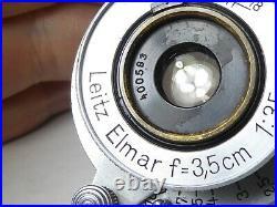 Elmar f=3.5cm 13.5 LEICA LTM Leica L39 Lens made by Ernst LEITZ Wetzlar in 1937