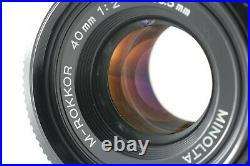 Exc++++ Minolta M-Rokkor 40mm F/2 For Leitz Leica CL CLE From JAPAN # 652