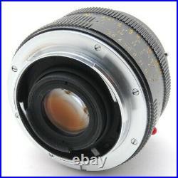 Excellent+5 LEICA LEITZ ELMARIT-R WETZLAR 28mm F/2.8 2cam From Japan