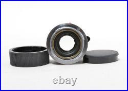 FedEx Leica Leitz Summicron-M 50mm f/2 Black Paint Good Condition