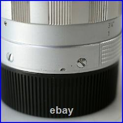 FedEx WETZLAR Summilux 50mmF1.4 M mount with original hood and UV filter