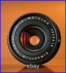 LEICA ELMARIT-R 35mm F/2.8 Lens (R-Mount) (3 Cam) LEITZ WETZLAR Sample Photo