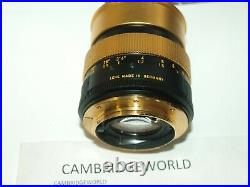 LEICA LEITZ GOLD ANNIVERSARY R3 CAMERA with 50mm F1.4 GOLD SUMMILUX R LENS