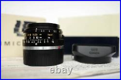 LEICA LEITZ SUMMICRON-M 12/35mm 11309 LATE 6-ELEMENTS VERSION III CANADA BOXED