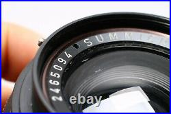 LEICA LEITZ SUMMICRON-R 35MM F/2 3 CAM FAST PRIME WIDE ANGLE LENS No. 2465094