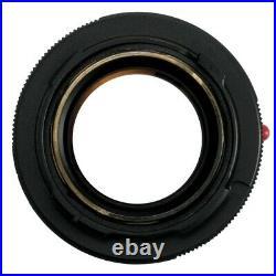 LEICA LEITZ SUMMILUX 50mm F1.4 LENS V1 M REPAINTED MATTE BLACK / CLA'd / READ