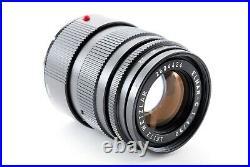 LEICA LEITZ WETZLAR ELMAR-C 90mm f/4 Lens Leica M Mount Excellent #027