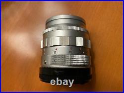 LEICA LEITZ WETZLAR SUMMILUX 50mm f1.4 LEICA M MOUNT BAYONET LENS EXCELLENT