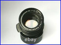 LEICA SUMMICRON-M 50mm F2 11819