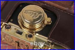 LEICA Vintage Camera Kriegsmarine +Leitz Elmar (3.5/50) Black Zorki Copy