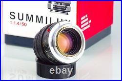LEITZ 11114 LEICA SUMMILUX M 50 50mm f 1.4 E43 TYPE 2 BOKEH KING EXCELLENT +++
