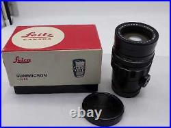 LEITZ CANADA Summicron-M 90mm 12 1971 Ser. 2500273 (5954-4)