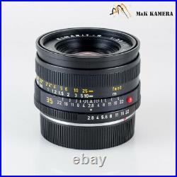 LEITZ Leica Elmarit-R 35mm/F2.8 Ver. III V3 Lens Yr. 1978 Germany #895