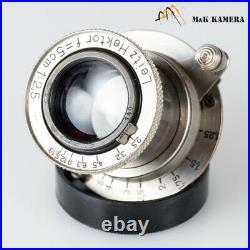 LEITZ Leica Hektor L39 50mm/F2.5 Lens LTM Germany #935