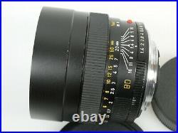 LEITZ Leica SUMMILUX-R 1,4/80 mm Nr. 3203763 11,4/80 80mm + Leitz case Köch
