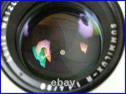 LEITZ Leica SUMMILUX-R 1,4/80 mm Nr. 3398590 11,4/80 TOP Near Mint OVP boxed