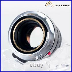 LEITZ Leica Summicron M 50mm/F2.0 IV Lens Yr. 1978 Canada #096