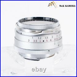 LEITZ Leica Summilux M 35mm/F1.4 Steel Rim Lens Yr. 1960 Canada #827