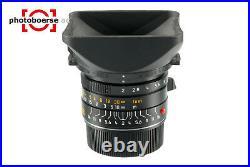 LEITZ, Summicron M, 28 mm, F / 2, asph, 6-BIT, schwarz