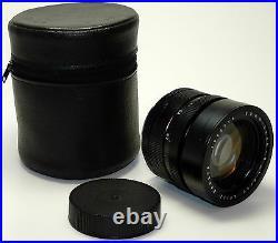 LEITZ WETZLAR Objektiv SUMMICRON-R 2/90 12/90 für LEICA R