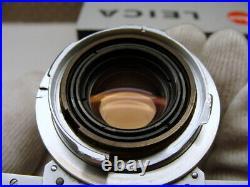 Leica 11108 Leitz Summicron-M 12/35mm 8-Linser 1963 SAMWO M3 RAR