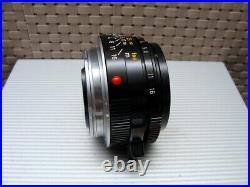 Leica 11310 Leitz Summicron-M 12/35mm E39 King of Bokeh Lens TOP