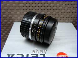 Leica 11310 Leitz Summicron-M 12/35mm black 1a Sammlerstück TOP