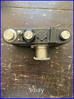 Leica 1A Film Camera with 50mm Leitz Elmar Lens 1929 Rare Collectible No 18507