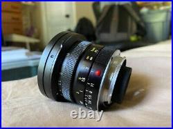 Leica 21mm Elmarit F2.8 Manual Focus Lens Elmarit-M Leitz 12.8/21