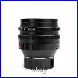 Leica 50MM F/1.0 NOCTILUX-M III Leitz Lens for Leica M Near MINT