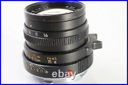 Leica 50mm 2.0 M Summicron Leitz Germany Typ IV #3571583 built 1992 & Sony E