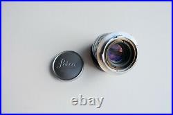 Leica 50mm f/2 Summicron M Mount Lens Rigid, Leitz Wetzlar Germany