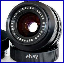 Leica ELMARIT-R 35 mm F/2.8 LEITZ WETZLAR Objektiv
