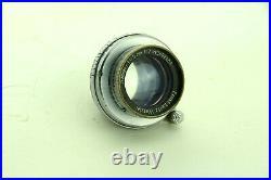 Leica Ernst Leitz Summar 5cm 12 Leica-M39 50mm, No. 402183