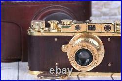 Leica II D Berlin 1936 Camera lens Leitz Elmar, Vintage Camera