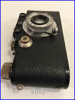 Leica III 3 Vintage Camera With 5cm Leitz Elmar Screw Mount Lens
