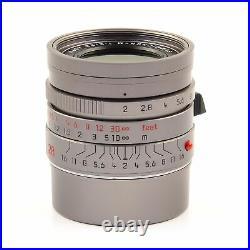 Leica Leitz 28mm F2 Summicron-m + 50mm F2 Apo-summicron-m Asph Titanium #1701