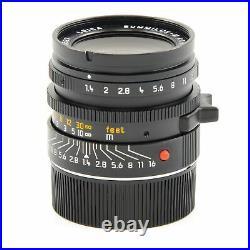 Leica Leitz 35mm F1.4 Summilux Aspherical Aa + Hood 11873 #2901