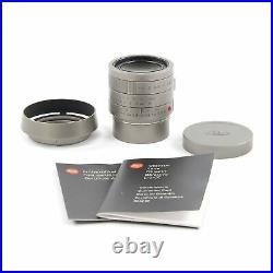 Leica Leitz 35mm F1.4 Summilux-m Leica M Edition 60 Lens Only 10779 #2227
