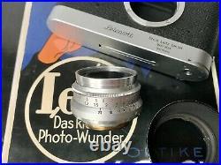 Leica Leitz 35mm f/2.8 Summaron Chrome Lens LTM L39 Screw Wetzlar E39 6-Elements