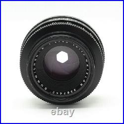 Leica Leitz 50mm F/. 2 Summicron-R 2-Cam Manual Focus Lens