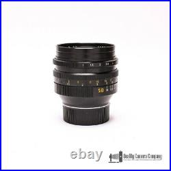 Leica Leitz 50mm F1.0 Noctilux-M E60 #11821 Lens with Shade, A Shooter's Dream